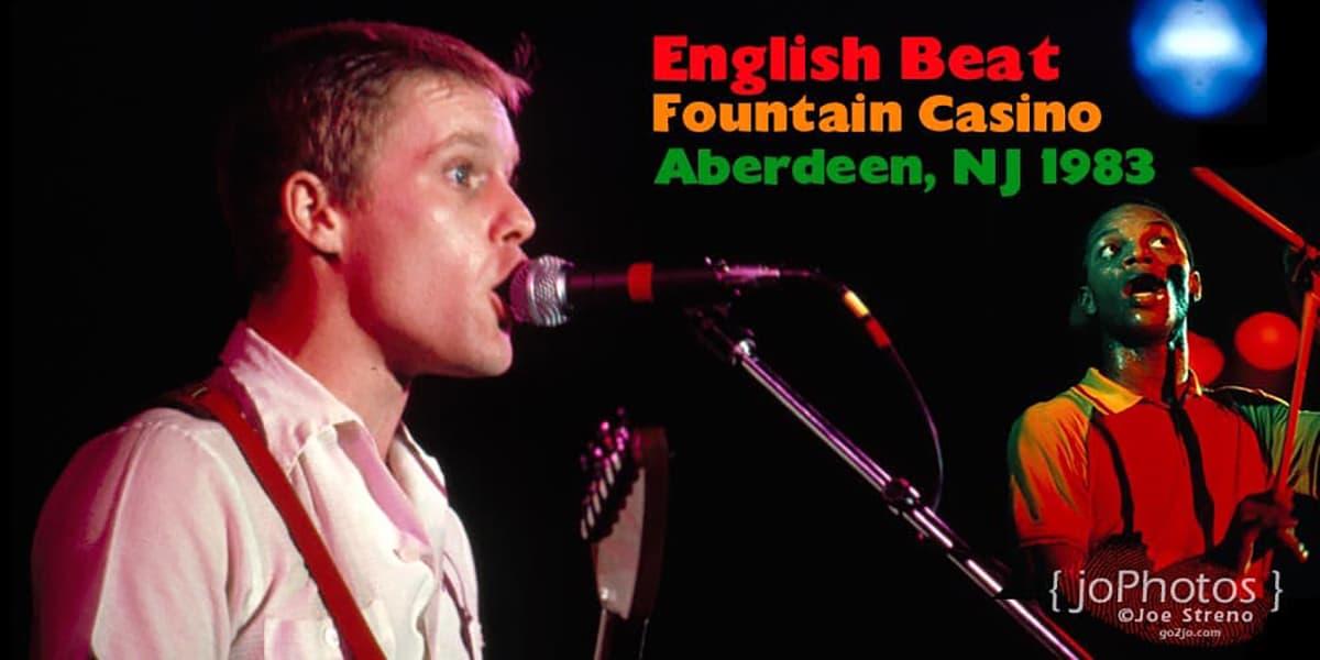 English Beat Fountain Casino