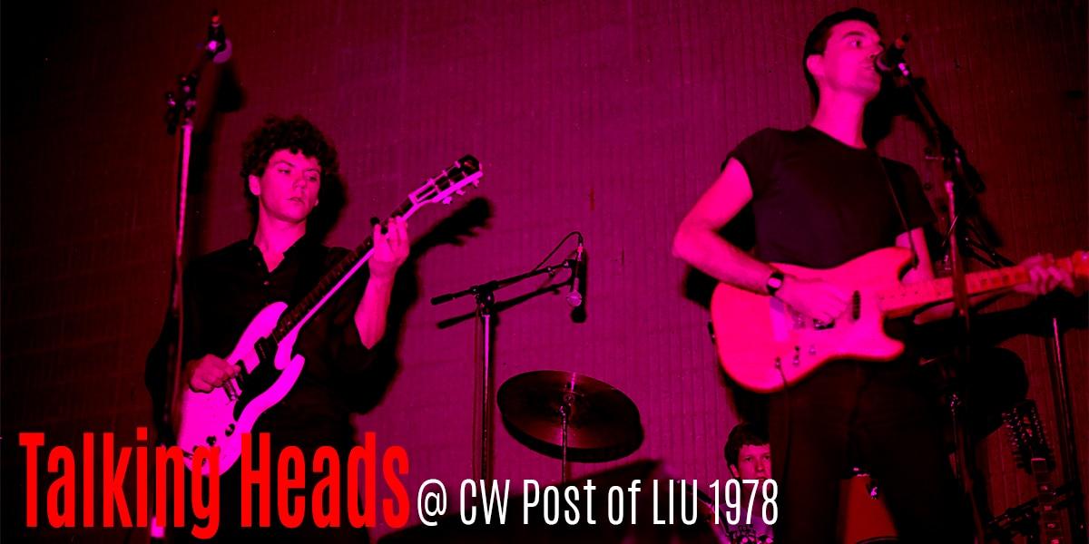 Talking Heads CW Post