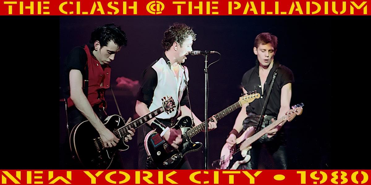 The Clash @ The Paladium