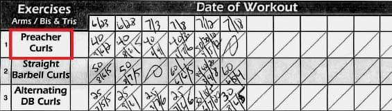 Gym Life - Week 10 + Workout Sheet 02