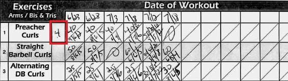 Gym Life - Week 10 + Workout Sheet 03