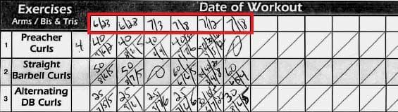Gym Life - Week 10 + Workout Sheet 04