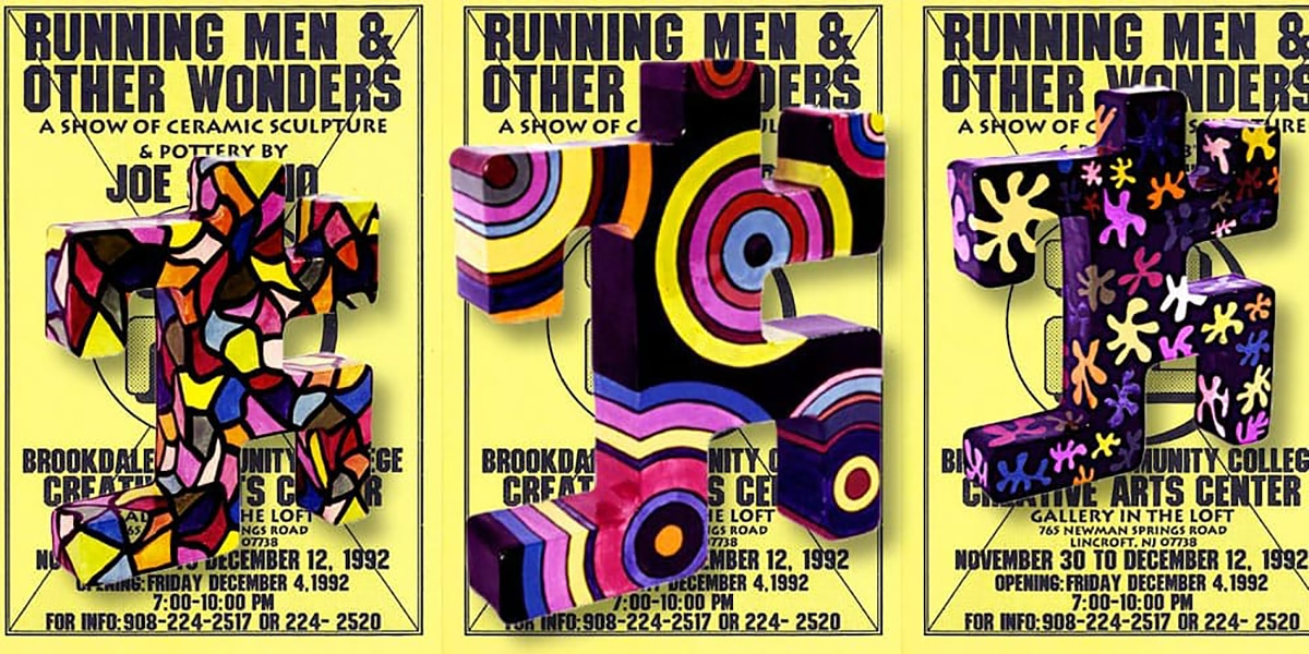 Running Men And Other Wonders