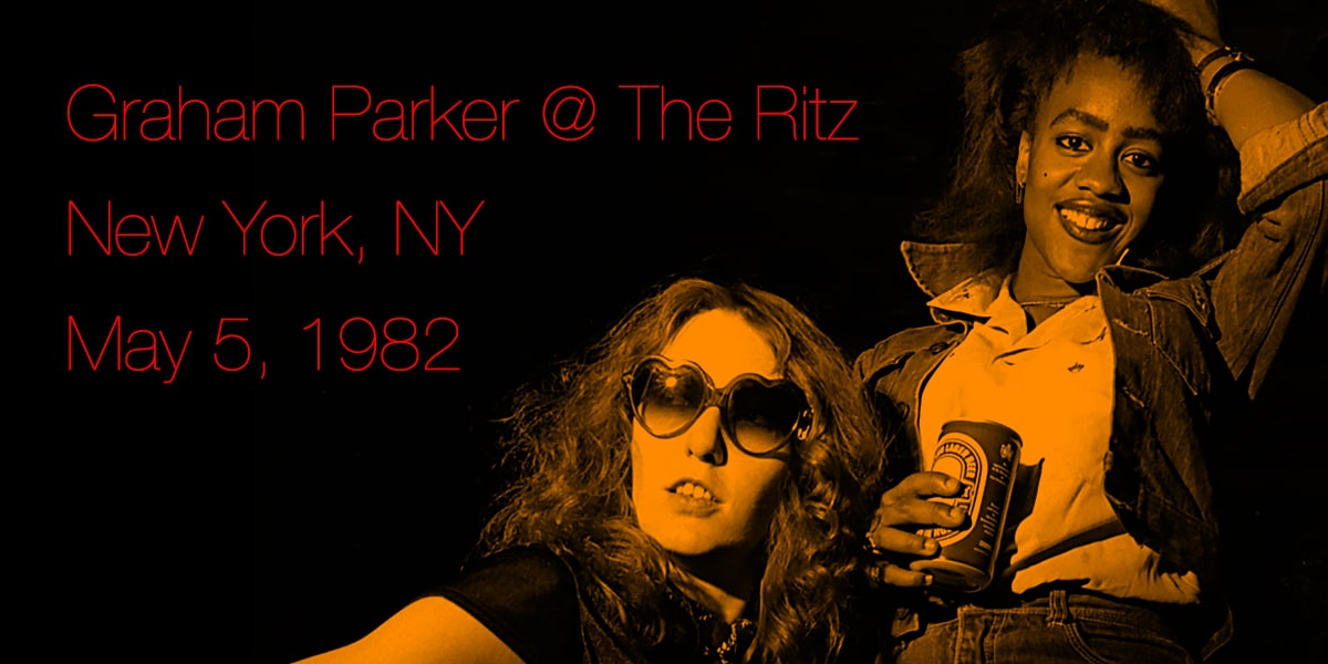 Graham Parker At The Ritz NYC 1982