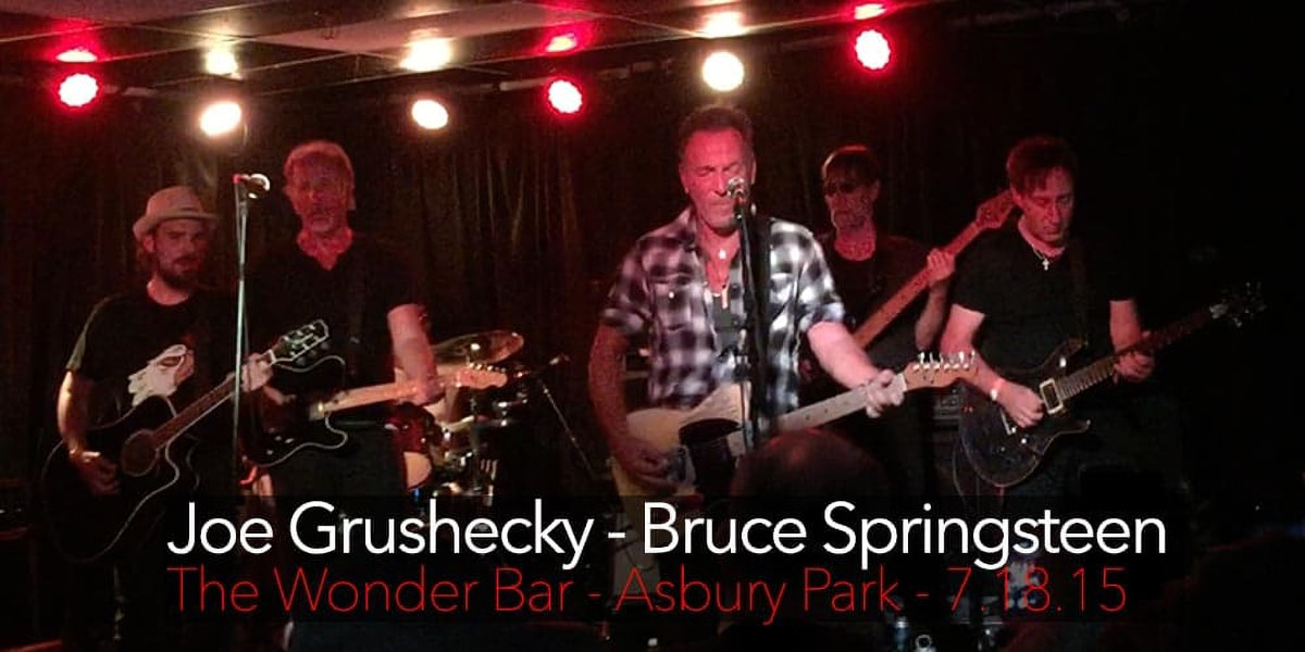 Joe Grushecky Bruce Springsteen Wonder Bar