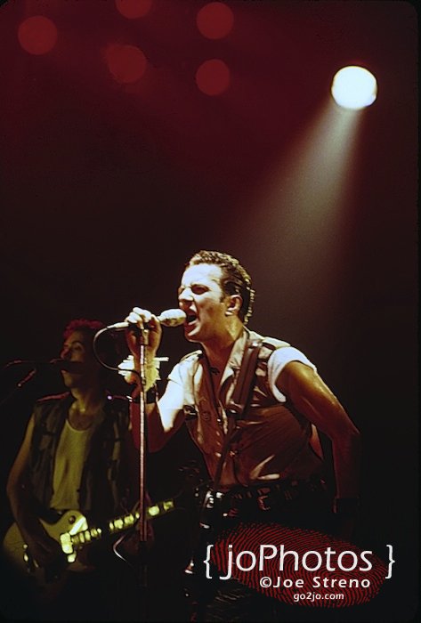 The Clash @ Asbury Park Convention Hall 1982 7