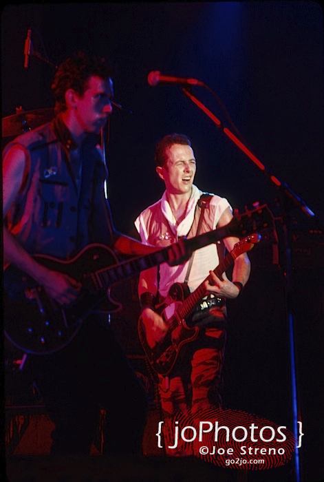 The Clash @ Asbury Park Convention Hall 1982 8